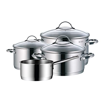 WMF Provence Plus - Batería de cocina de 4 piezas, 1 cacerola de 2,