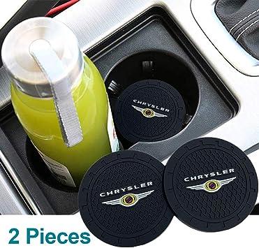 2pcs Cup Holder Insert Coaster for Chrysler for Chrysler Accessories