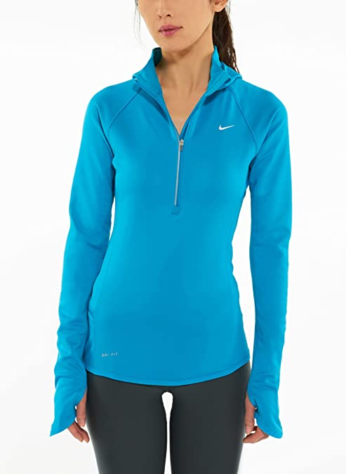 ab59a8688253 Nike Element Thermal Women S Running Hoodie Style  424841-424 Size ...