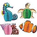 Sea Creatures Playmates   (4/Pkg)