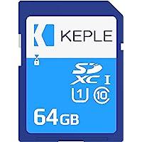 Keple 64GB 32Go SD Tarjeta de Memoria di Quick Speed SD Card for Sony Cybershot DSC-WX220, DSC-WX350, DSC-W800, DSC…