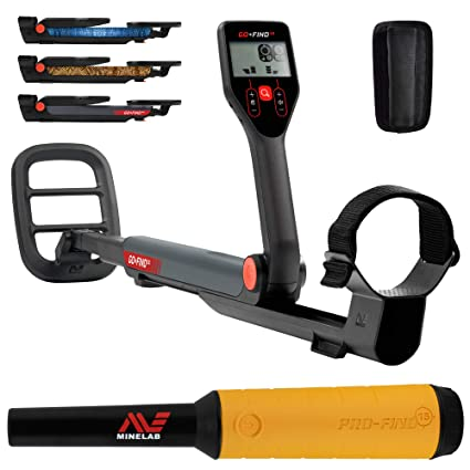 Amazon.com : Minelab GO-FIND 22 Metal Detector with PRO-FIND 15 Pinpointer & Holster : Garden & Outdoor