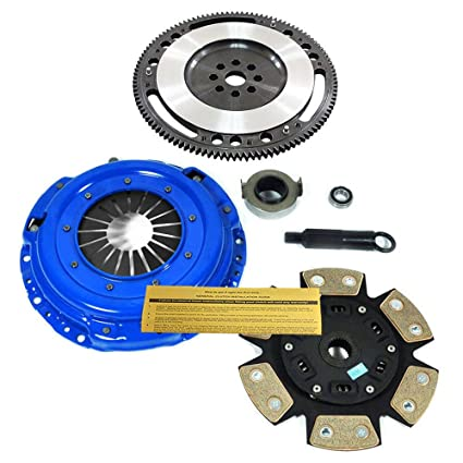 Amazon.com: EFT STAGE 3 CLUTCH KIT+10 LBS CHROMOLY FLYWHEEL for 99-00 HONDA CIVIC SI B16: Automotive