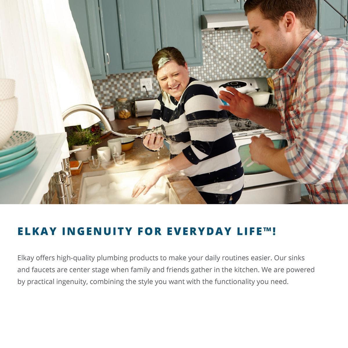 Elkay Lustertone LTR46226 Triple Bowl Top Mount Stainless Steel Kitchen Sink by Elkay (Image #5)