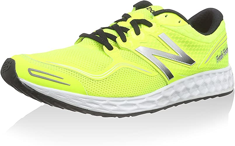 NEW BALANCE M1980 RUNNING NEUTRAL - Zapatillas de deporte para hombre, Amarillo - Gelb (Yellow/White), 45: Amazon.es: Zapatos y complementos