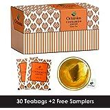 Octavius Cinnamon Anise Green Tea, 25 Bags(20% Extra)