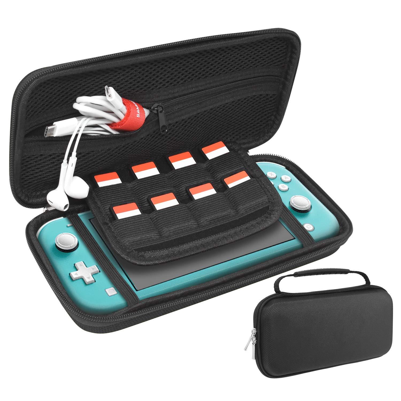 FASTSNAIL - Funda rígida para Nintendo Switch Lite (con 8 Ranuras ...