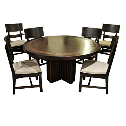 Amazon.com - JWLC Imports 66060 Transitions Round Dining ...