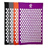 Yogi-Bare® Acupressure mat / Bed of Nails for Massage / Wellness / Relaxation and tension release