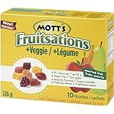 Motts Gluten Free Fruit Flavoured Snacks Fruitsations + Veggie Assorted Fru