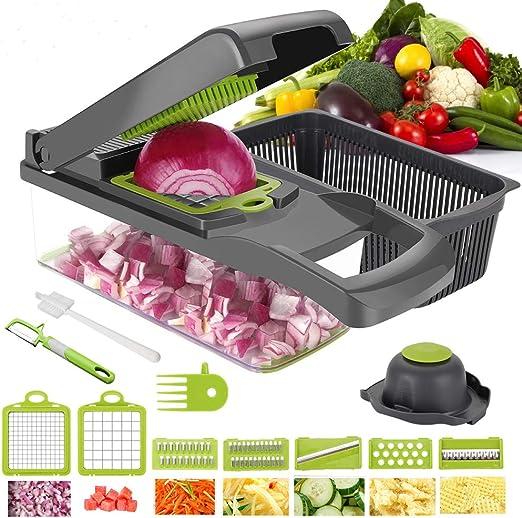 Amazon.com: Cortador de verduras Yibaision, cortador de ...