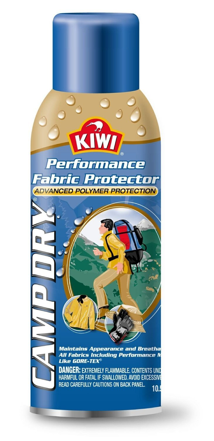 Kiwi Camp Dry Water Repellent Performance Fabric Protector, 10.5 oz 12 pack