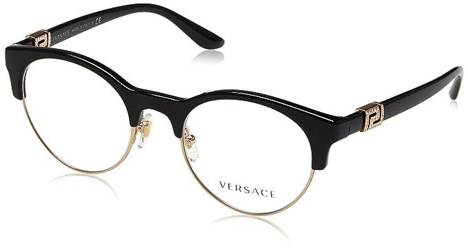 Amazon.com: Versace ve3233b Lentes de la mujer, Negro: Clothing