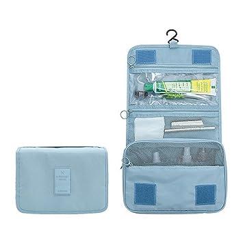 Bolsa de Aseo ElifeAcc Travel, Plegable, portátil, 7 litros, Azul ...
