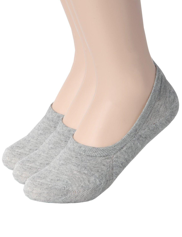 Zando PANTS レディース B01J1MLZOC 10-12 / Shoe: 10-13|D 3 Pairs Gray