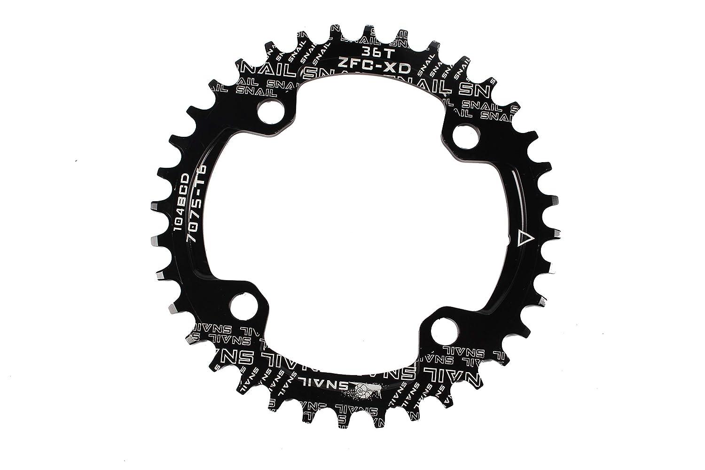 32-42T Narrow Wide MTB Bike Chainring /& Chain Guard 104bcd Cycling Chainwheel
