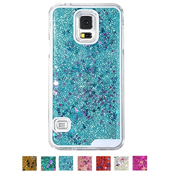 promo code e9b90 0d901 Super Samsung Galaxy Diamond Cases,DStores Samsung Galaxy Diamond CasesBlue  Galaxy S5 Case Dynamic Water Liquid Floating Star Glitter Quicksand Clear  ...