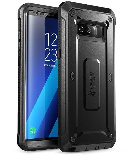 43a4cab0a2c Estuche de funda resistente de cuerpo completo SUPCASE Unicorn Beetle Pro  para Samsung Galaxy Note 8 (2017), Negro: Amazon.com.mx: Electrónicos