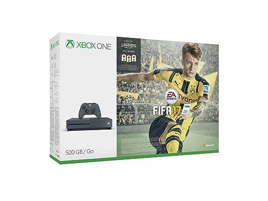 26 opinioni per Xbox One S 500 GB Storm Grey + FIFA 17 [Bundle Limited Esclusiva Amazon]