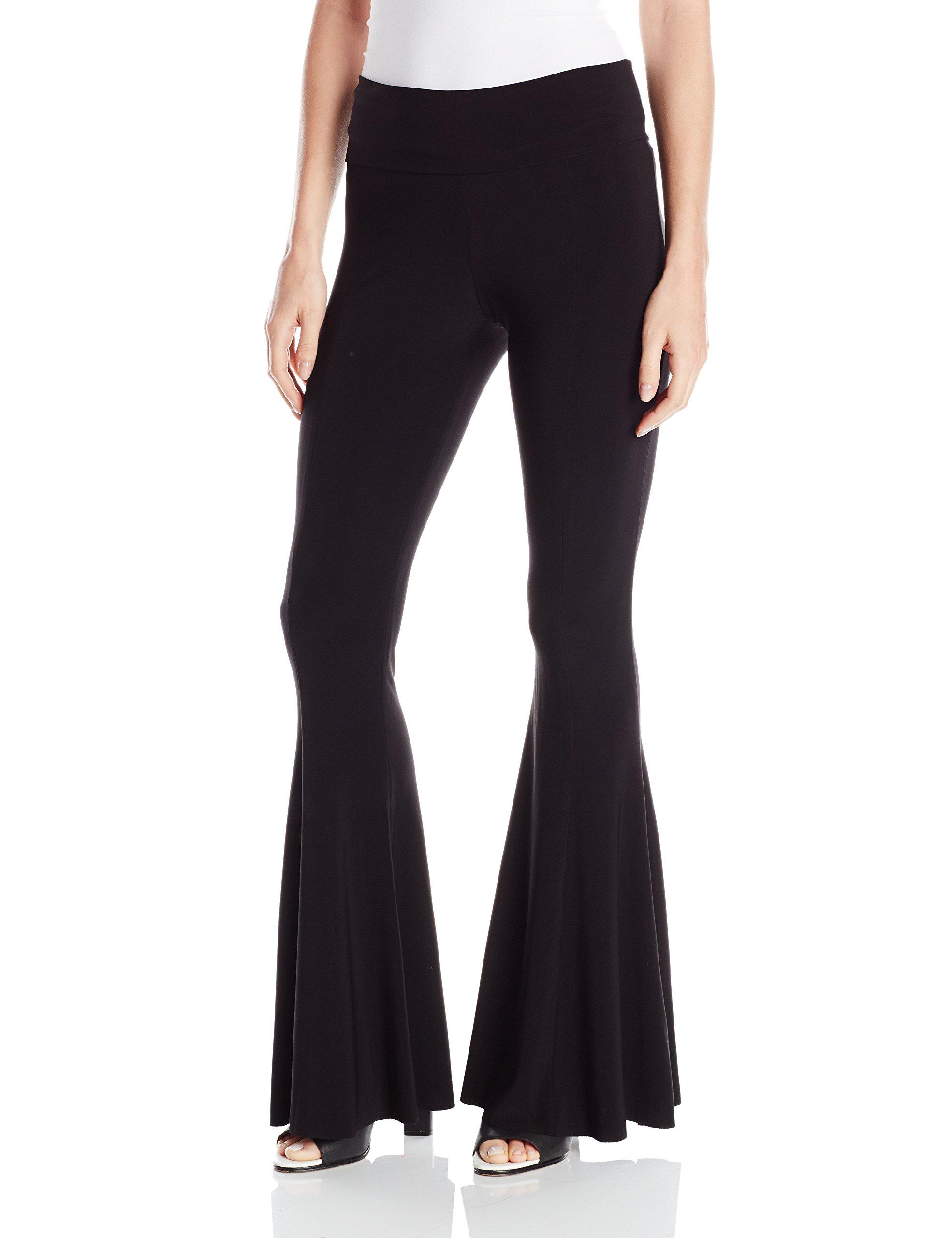 Norma Kamali Women's Fishtail Pant, Black, S