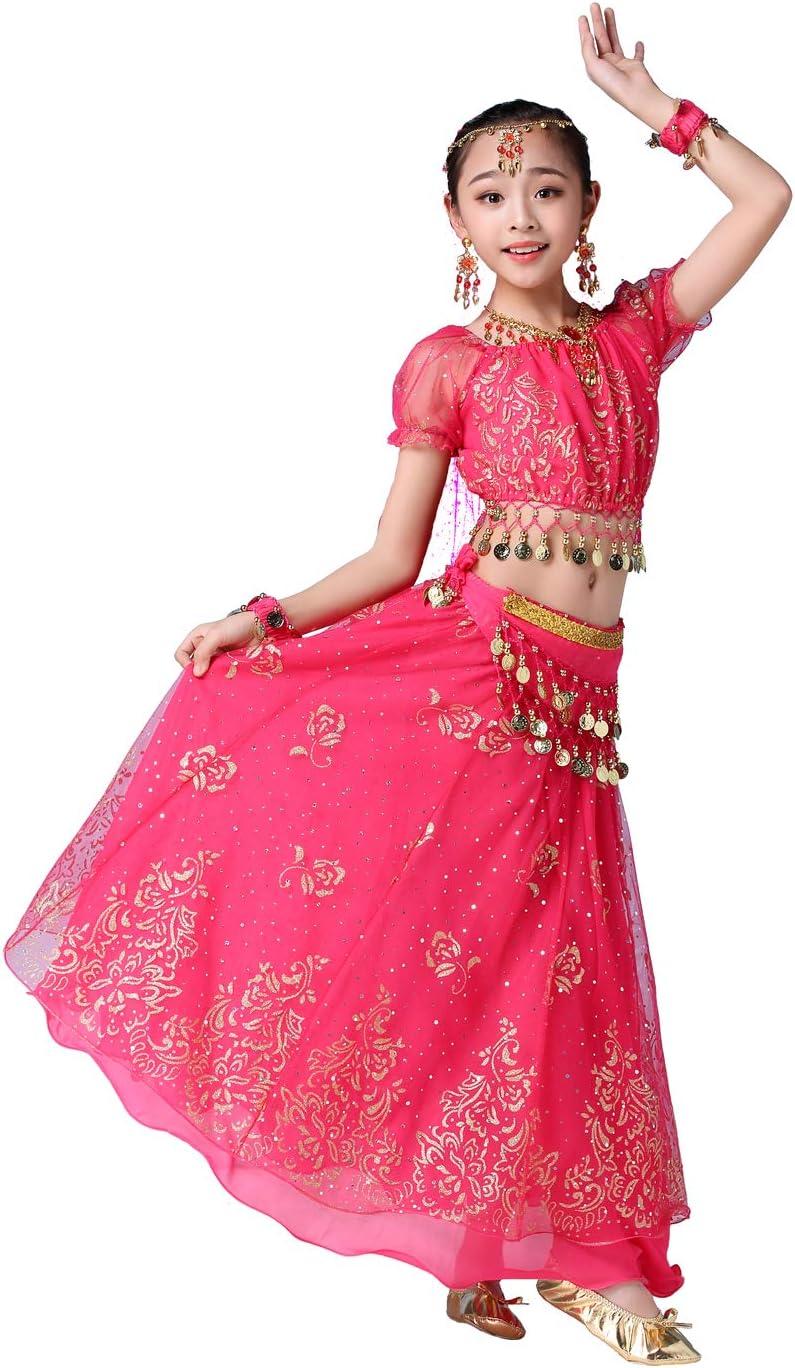 Grouptap Bollywood Indio niña de los niños bharatanatyam Danza del ...