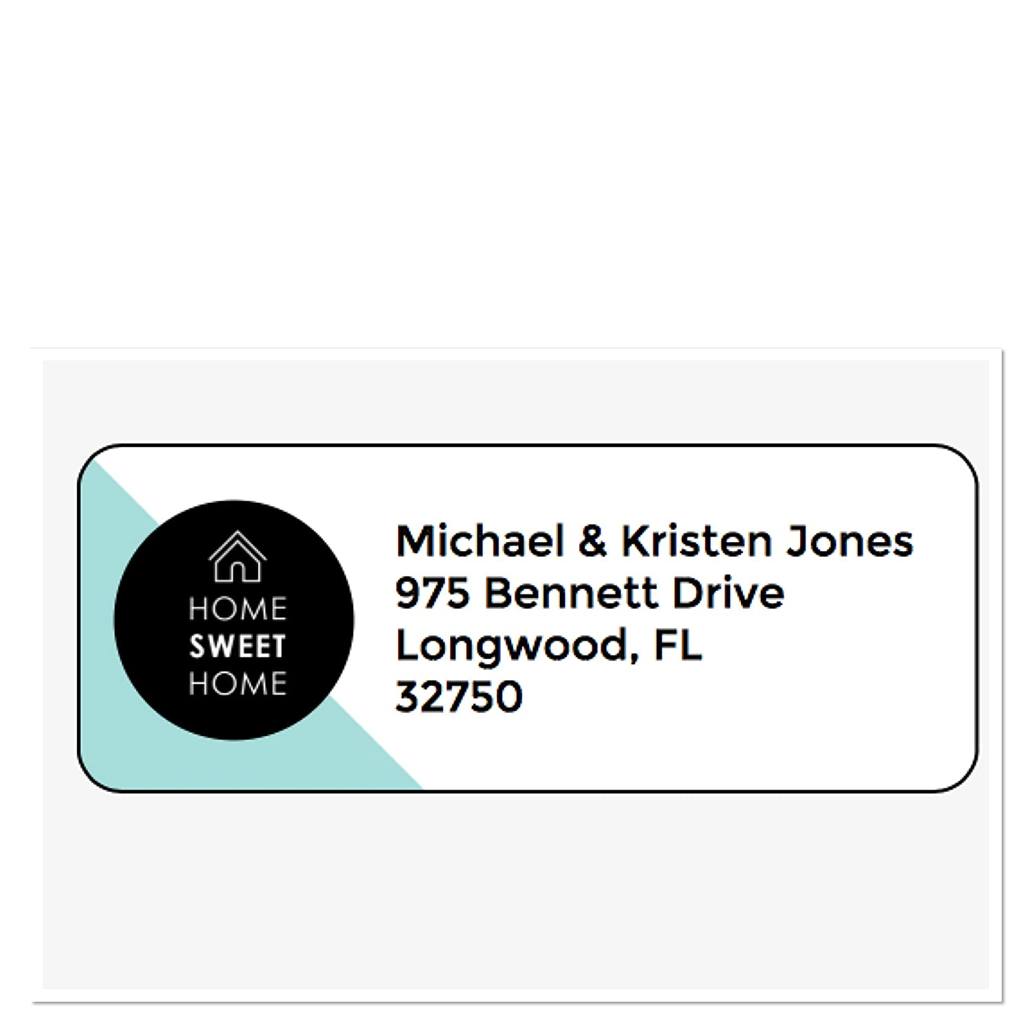 Amazon com personalized address labels new home home sweet home