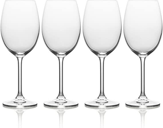 Mikasa Julie White Wine Glass