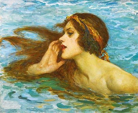 The Siren-Waterhouse CANVAS OR PRINT WALL ART