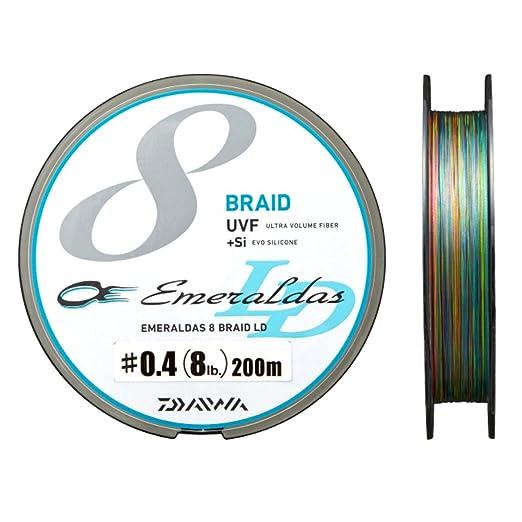 ダイワ エメラルダスセンサー 8ブレイドLD+Si  0.4号 の画像