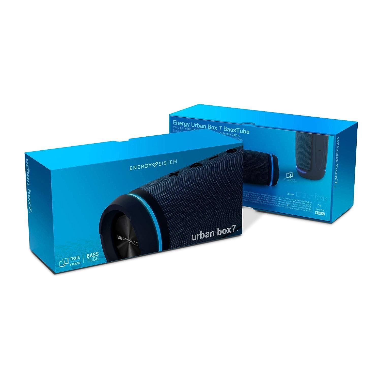 30 W, 360 Sound Experience, TWS, Water-Resistant Energy Urban Box 7 BassTube Cobalt