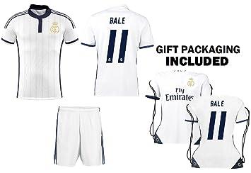 online store 346ab 30652 CR7 Christiano Ronaldo Kids Soccer Jersey Set - Ronaldo #7 Youth Jersey  Shirt + Shorts + CR7 Bag = Ultimate Fan Gift Set for Boys & Girls