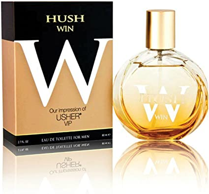 Hush Win Our Impression of Usher Vip Eau De Toilette Cologne for Men 2.7 Oz. (1 Each) by PREFERRED FRAGRANCE