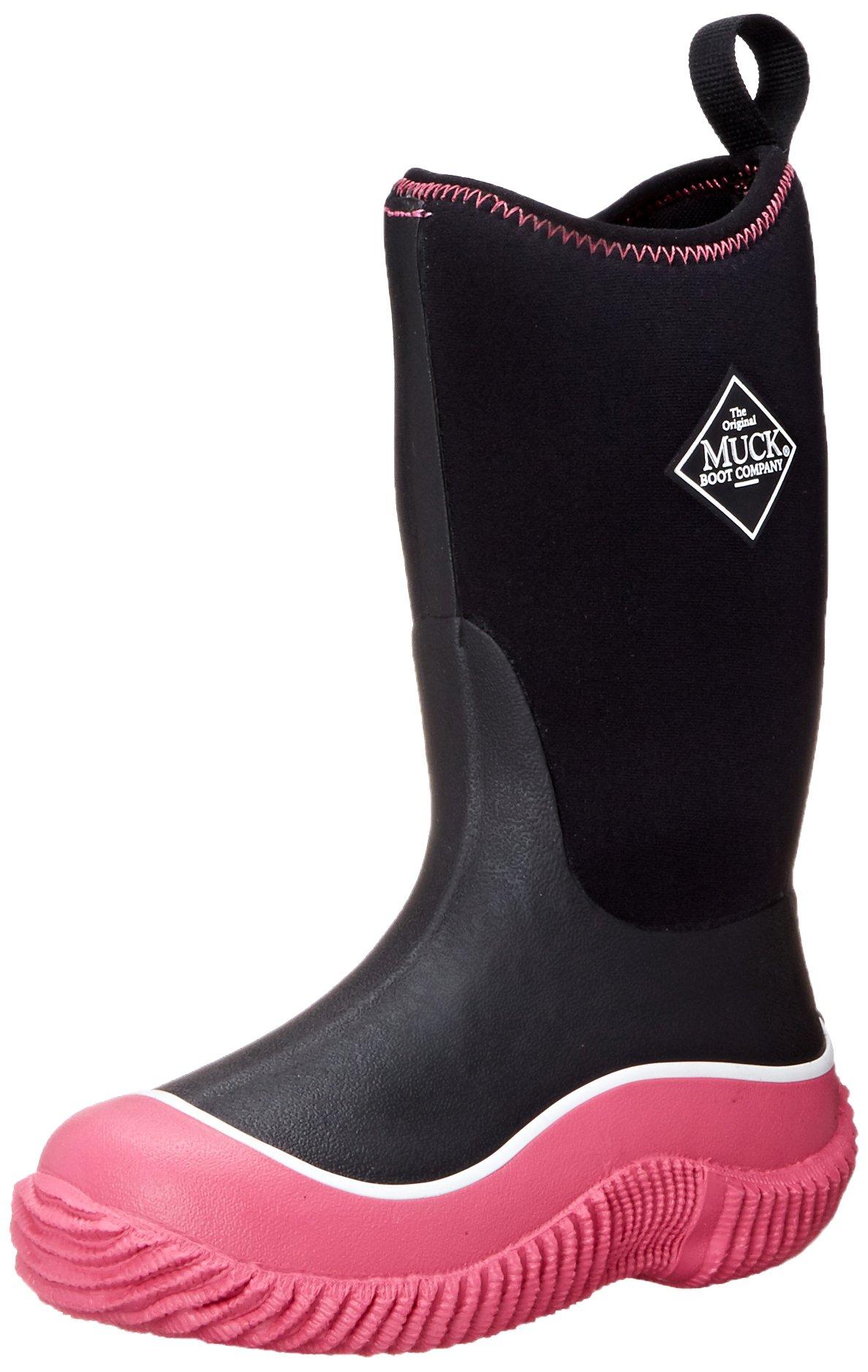Muck Boot Girls Kids Hale Sport Boot Black/Pink Size 13
