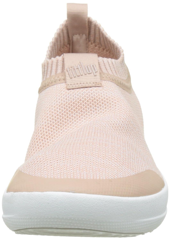 FitFlop Damen Uberknit Slip-on Sneakers Hohe Sneaker Sneaker Hohe Multicolour (Neon Blush/Urban Weiß) 706f06