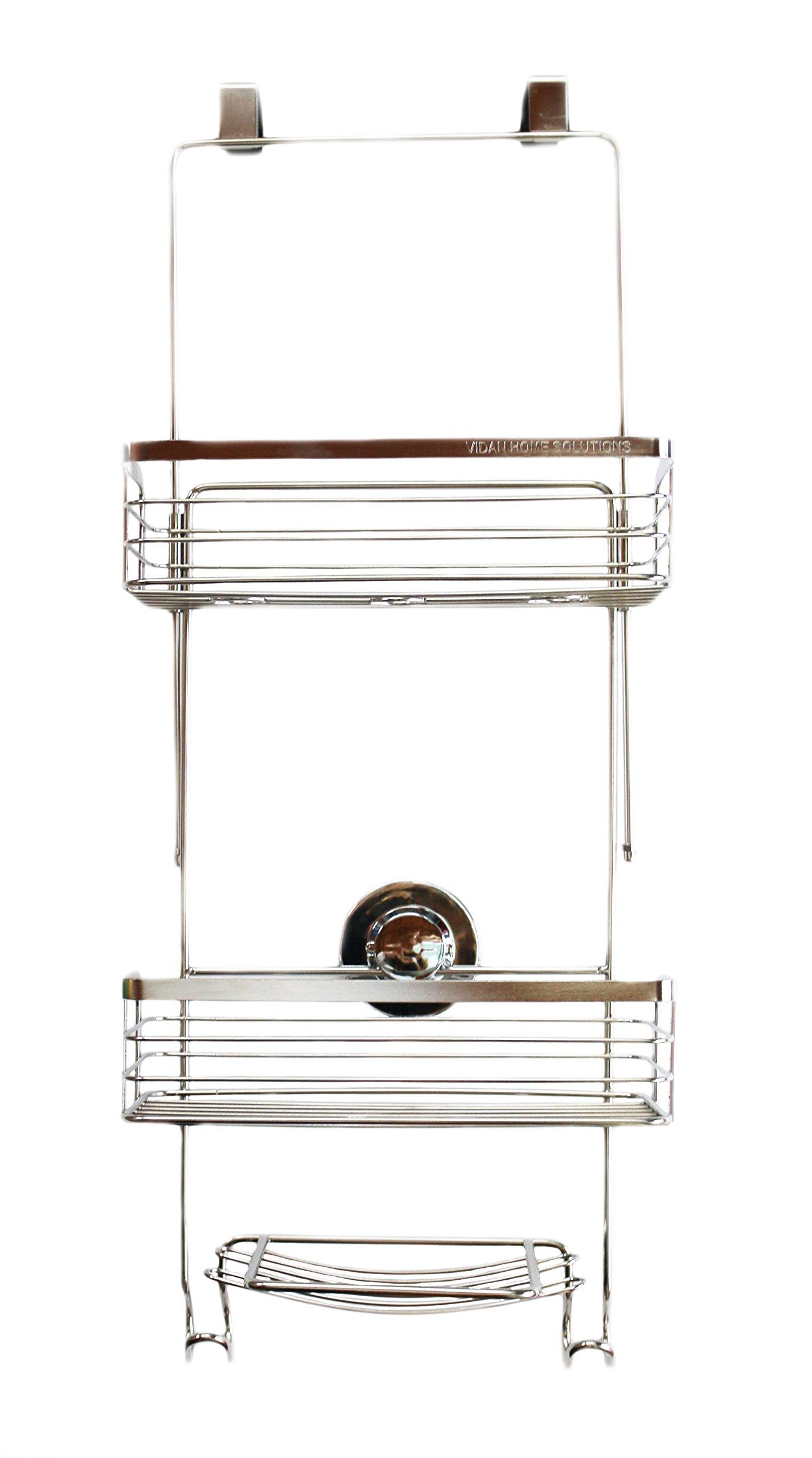 Vidan Home Solutions Over The Door Shower Caddy Rustproof