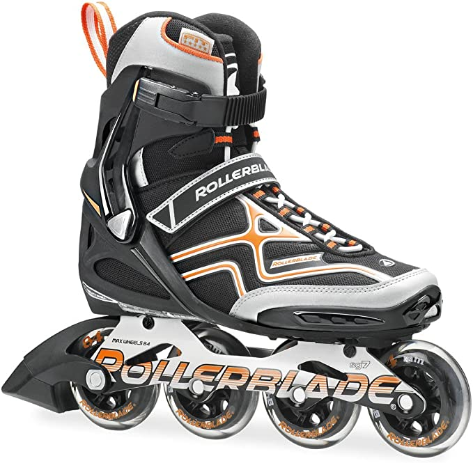 Rollerblade Spark XT 84 Inline Skate Black/Orange
