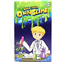 Ultimate DIY Slime Supplies Making Games Stuff Kit for Girls Boys Kids[1 Pack 1 Colors] Fluffy Glitter Ingredients Squishy Factory Homemade Mystery Jelly Goo Candy Rainbow Unicorn Chocolate Slime