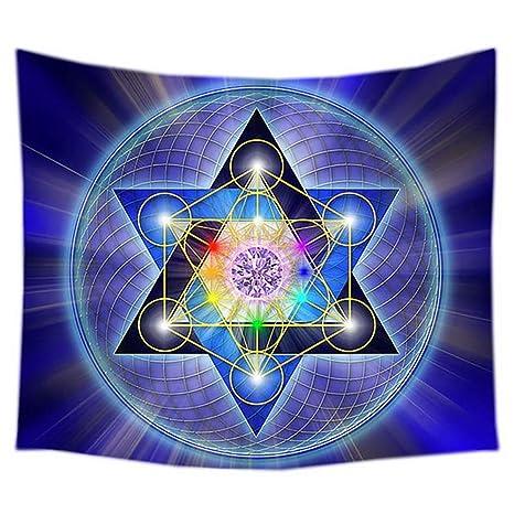 zmigrapddn Mandala Chakra - Tapiz de meditación para Colgar ...