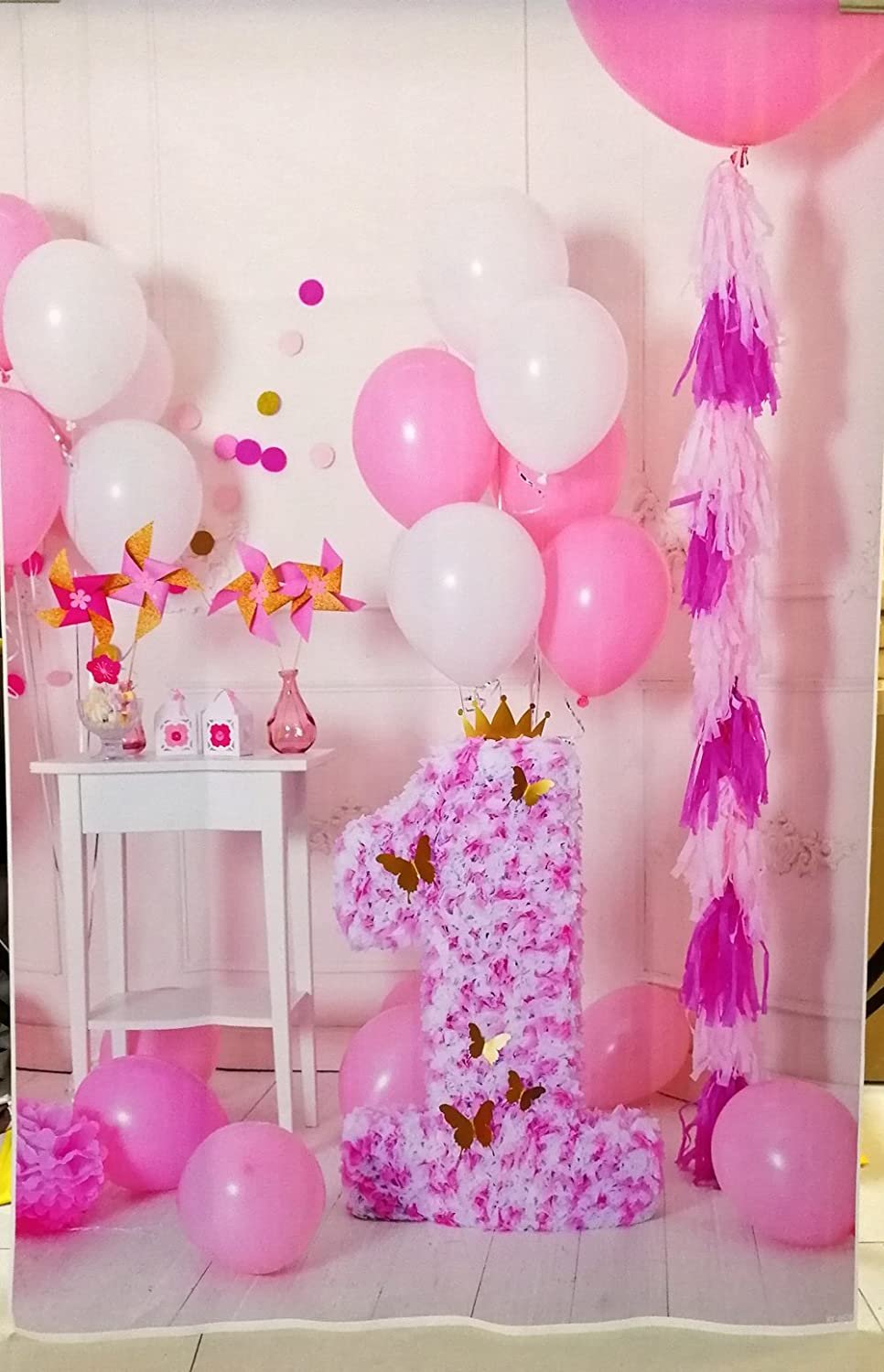 Aosto Photography Backdrops Birthday Photo Backdrop Construction Baby Shower Birthday Party Decor Banner Background Props W-631