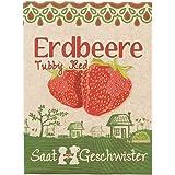 """Erdbeere """"Tubby Red""""-Saatgut (saftige Erdbeere)"""