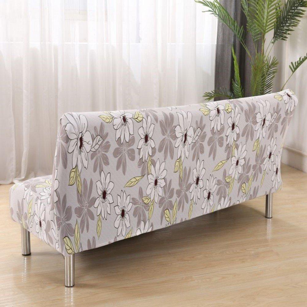 dw hx armless sofabezug falten sofa bett mobel protector shield plusch verdickung staubdichte couch sofabezug rosa 160 190 cm amazon de kuche haushalt