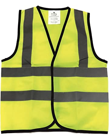 High Visibility Safety Work Vest Breathable Mesh Vest Crease-Resistance Safety Clothing