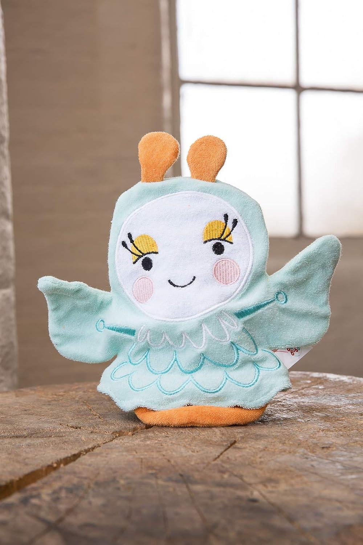 Yesiidor Gant de bain Animal gant en forme de marionnette pour b/éb/és tout-petits
