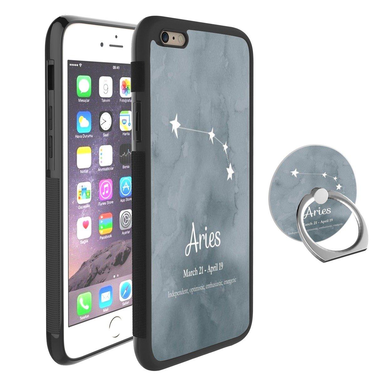 best sneakers 825e8 5406d Amazon.com: Feloowse Aries Case for iPhone 6s Plus 6 Plus Case with ...