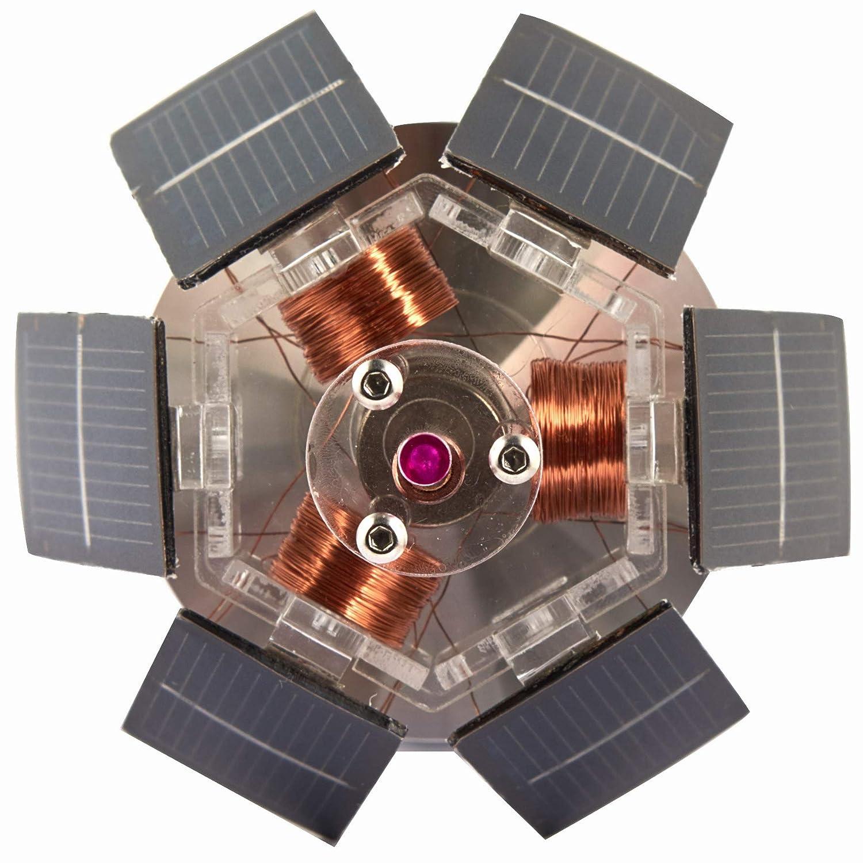 Sunnytech Solar Mendocino Motor Magnetic Levitating Educational Model Vertical Stand QZ05