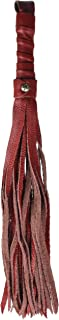 product image for Liberator Tristan Soft Red Leather Flogger Leather Bondage Whip, 0.5 Pound