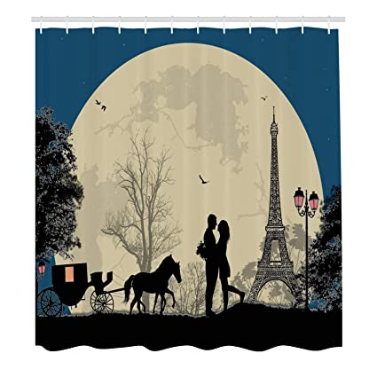 Image Unavailable Not Available For Color Romantic Shower Curtain