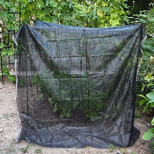 40 Black 6.5 x10 Sun Mesh Shade Sunblock Shade UV Resistant Net for Garden Flower Plant