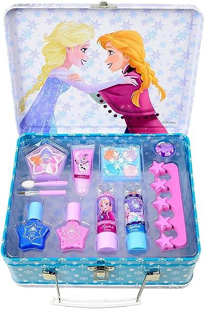 Disney Frozen - Lata de maquillaje (Markwins 9528910): Amazon.es: Juguetes y juegos