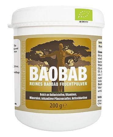 Bio Baobab Frucht Fur Smoothies Und Shakes I 200g Pulver I De Oko